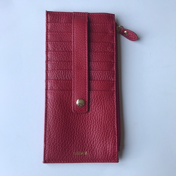 the best attitude 93be7 300f9 Lodis red credit card/ multiple compartment wallet